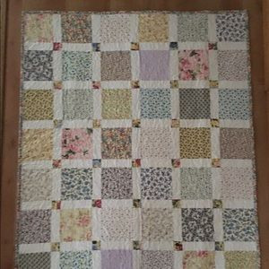 Other - 48 x 40 hand made quilt.
